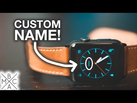 How To CUSTOMIZE Your Apple Watch Face! ⌚️