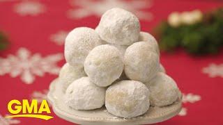 25 Days of Cookies: Make Martha Stewart Living's Chai Snowball cookie recipe