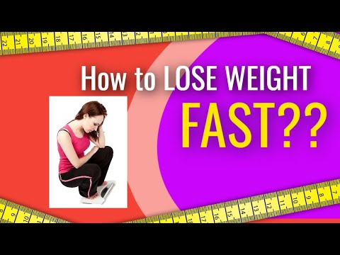 How to Lose weight Fast !!! for men, kids, teens! with out diet! exercise! naturally in 2weeks