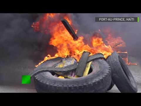 Haïti : heurts violents entre des manifestants et la police à Port-au-Prince