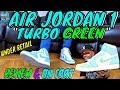 """AIR JORDAN 1 """"TURBO GREEN"""" UNDER RETAIL UNBOXING 