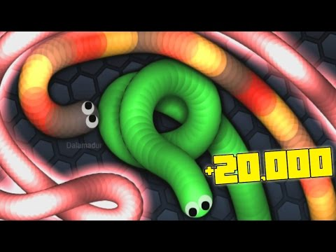 +20,000 HIGHSCORE REKORD! | Slither.io