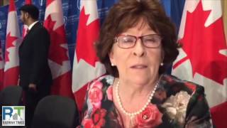 "Former Canadian Supreme Court Judge receives Ahmadiyya ""Zafrullah Khan Award"""