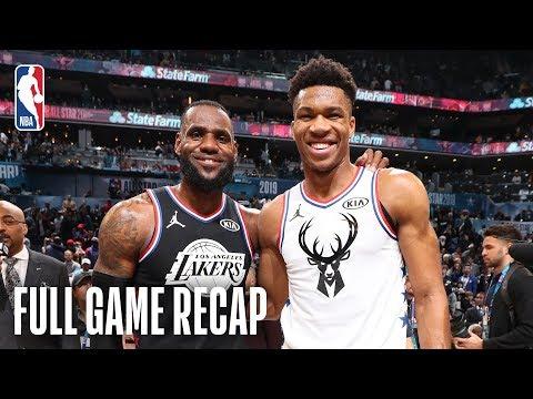 TEAM LEBRON vs TEAM GIANNIS | 2019 NBA All-Star Game | February 17, 2019