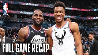 TEAM LEBRON vs TËAM GIANNIS | 2019 NBA All-Star Game | February 17, 2019
