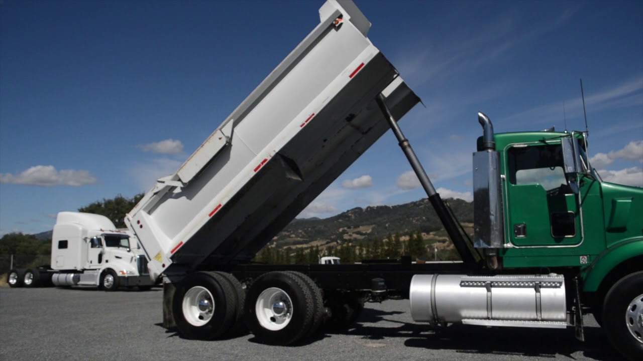 2000 Kenworth T800 Dump Truck / Charter Trucks - u10720 ... Kenworth Dump Trucks Pics