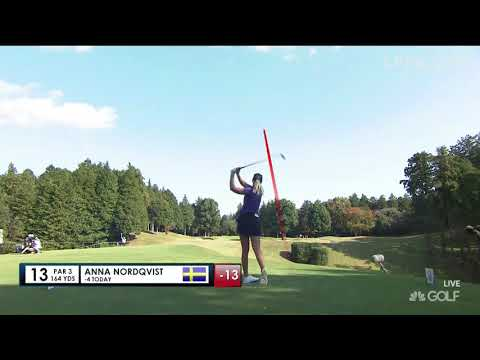 Anna Nordqvist Final Round Highlights - 2017 TOTO Japan Classic