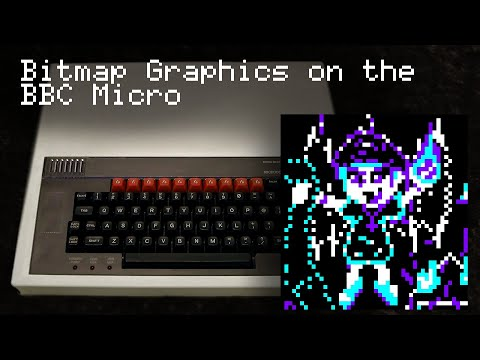 Bitmap Functions On The BBC - Learn 6502 Assembly - Lesson P1