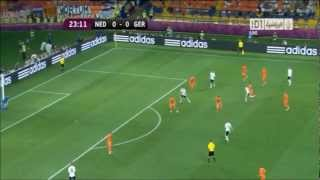 Mario Gomez Goals Vs The Netherlands (EURO 2012)