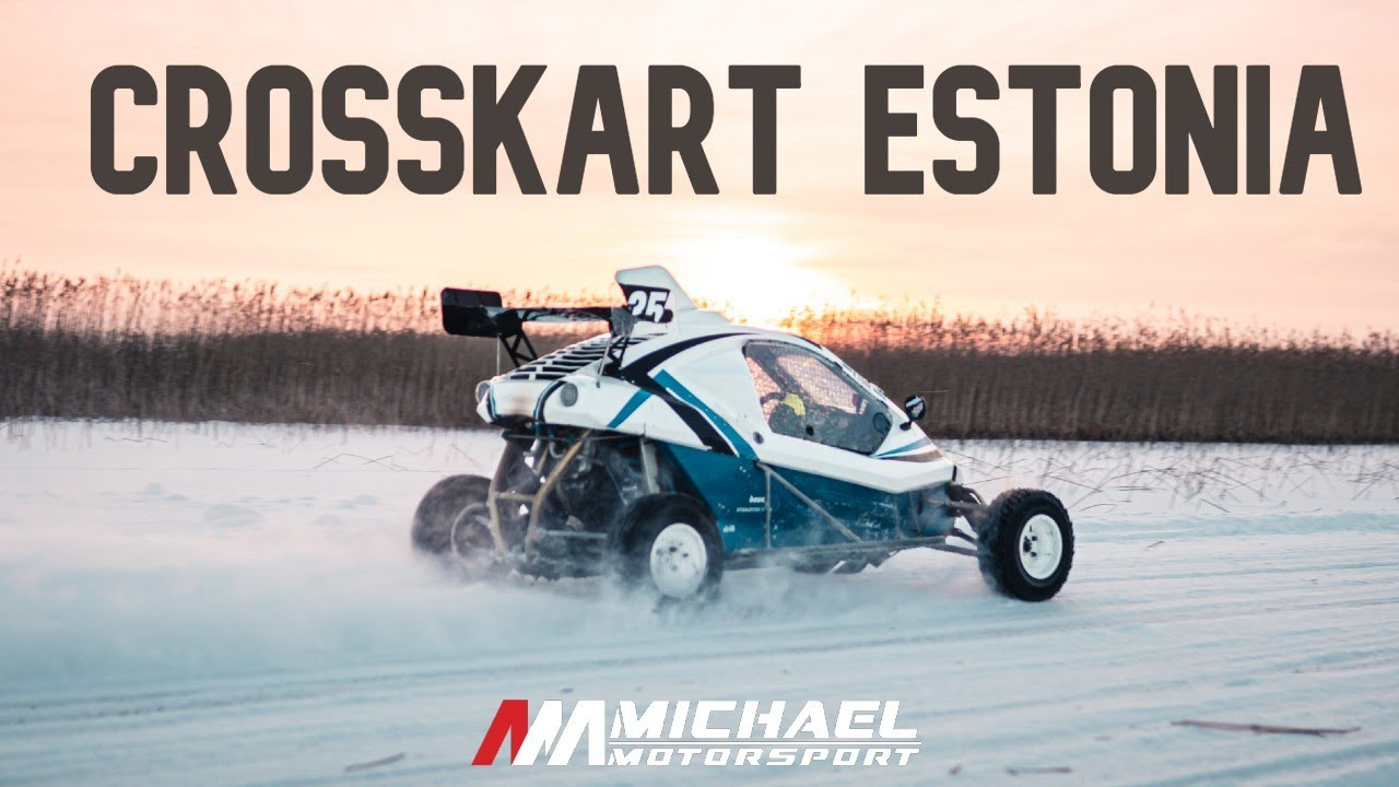 FIRST TIME DRIVING WITH CROSSCARTS! / Michael Motorsport