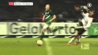 Tim Wiese Foul an Thomas Müller
