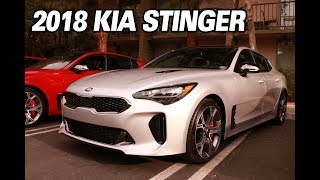 The 2018 Kia Stinger