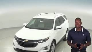 183091 - New, 2018, Chevrolet Equinox, LT, White, SUV, Test Drive, Review, For Sale -