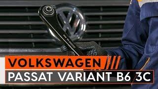 Montering Länkarm hjulupphängning vänster och höger VW PASSAT: videoinstruktioner