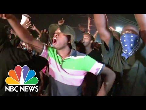 Ferguson Cop Shot Amid Renewed Protests | NBC News
