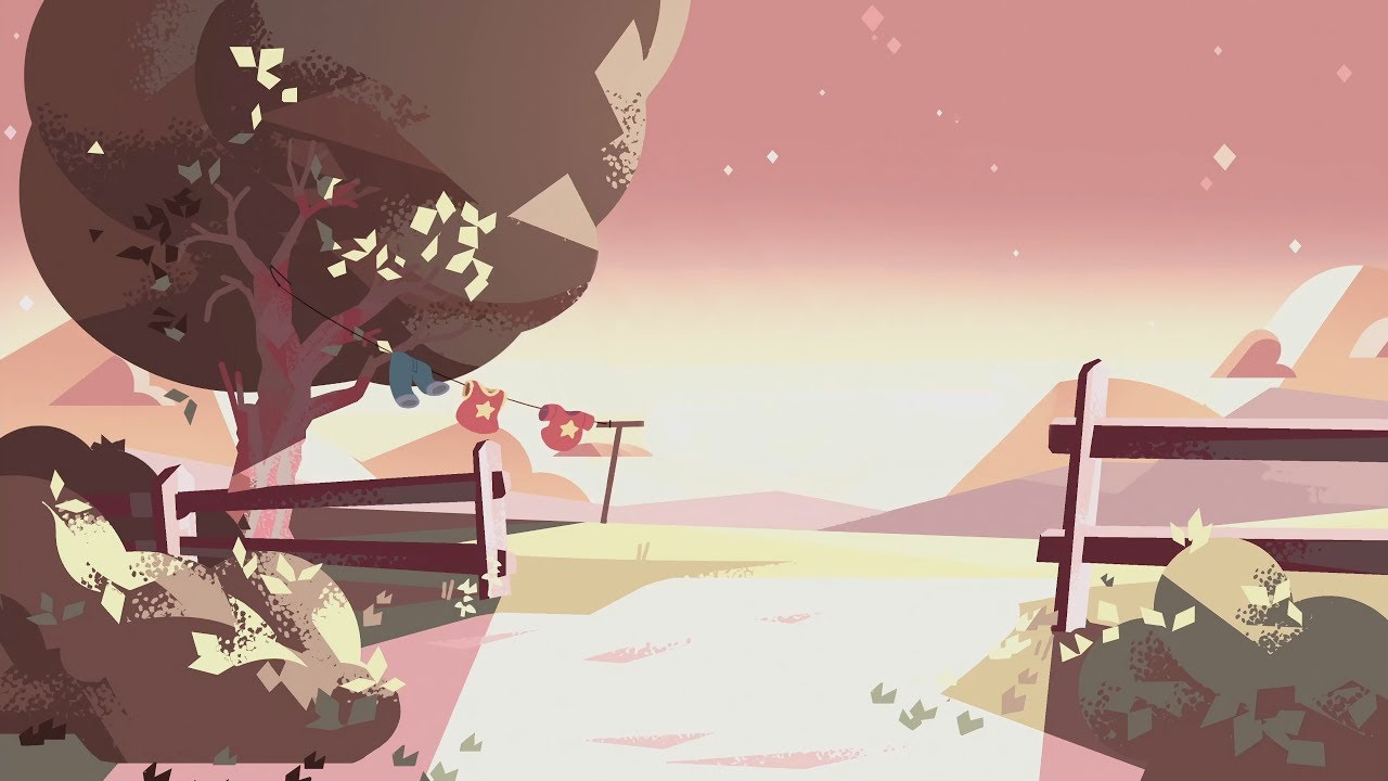 Animated Sunset Wallpaper Steven Universe Recreated Barn Background Loops Youtube