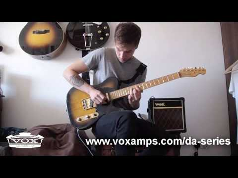 Kids In Glass Houses Guitarist with the VOX DA5 Guitar Amp
