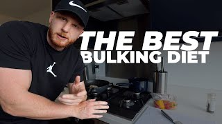 The BEST Bulking Meal Plan, Full Day of Eating 3200 Calories