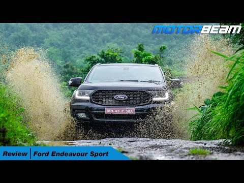Ford Endeavour Sport Review - Off-Roading The Fortuner TRD Rival | MotorBeam