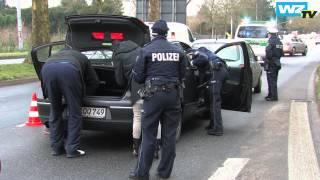 Polizei sucht bei Autokontrollen nach Einbrechern