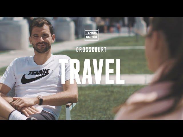 CrossCourt | Episode 6 | Grigor Dimitrov & Belinda Bencic: Travel