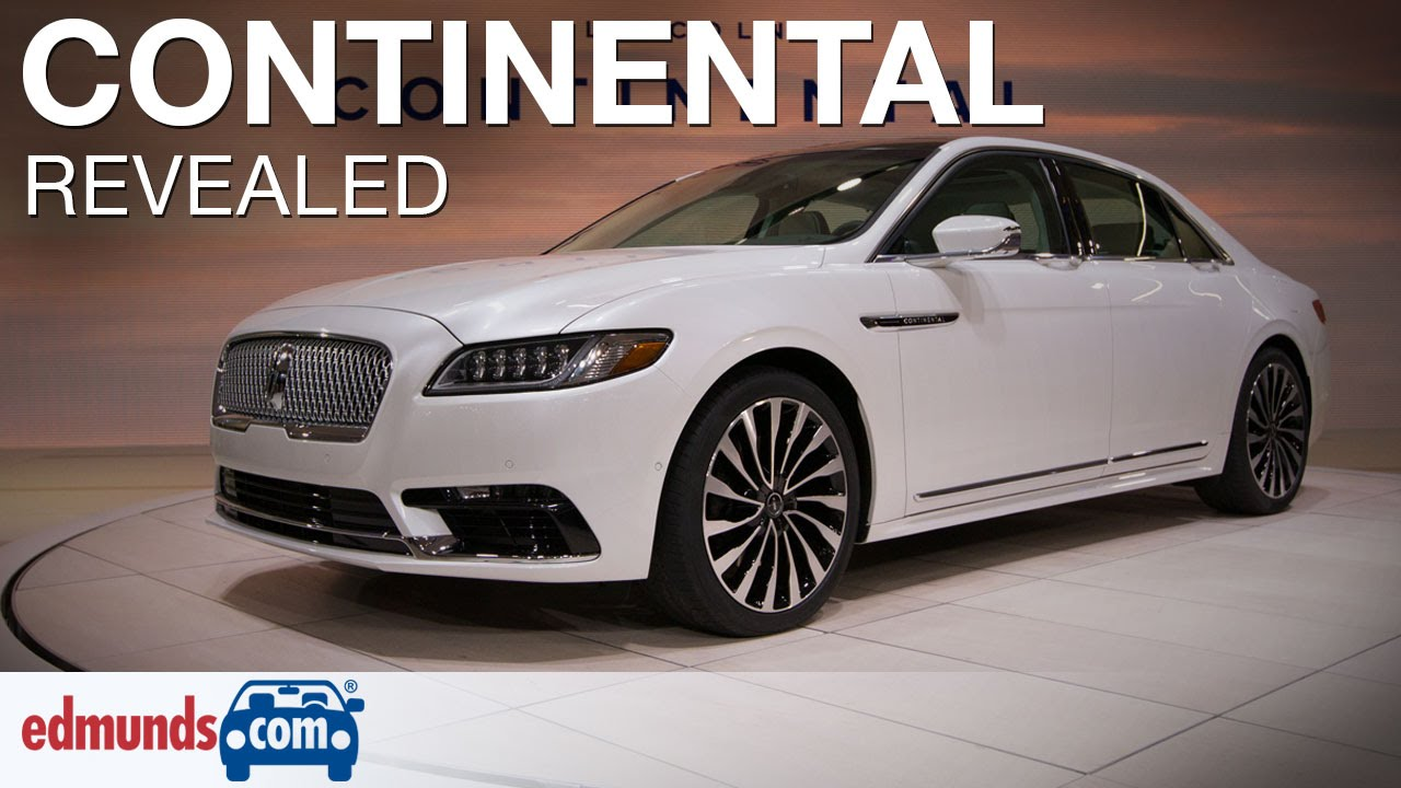 2017 lincoln continental revealed detroit auto show. Black Bedroom Furniture Sets. Home Design Ideas