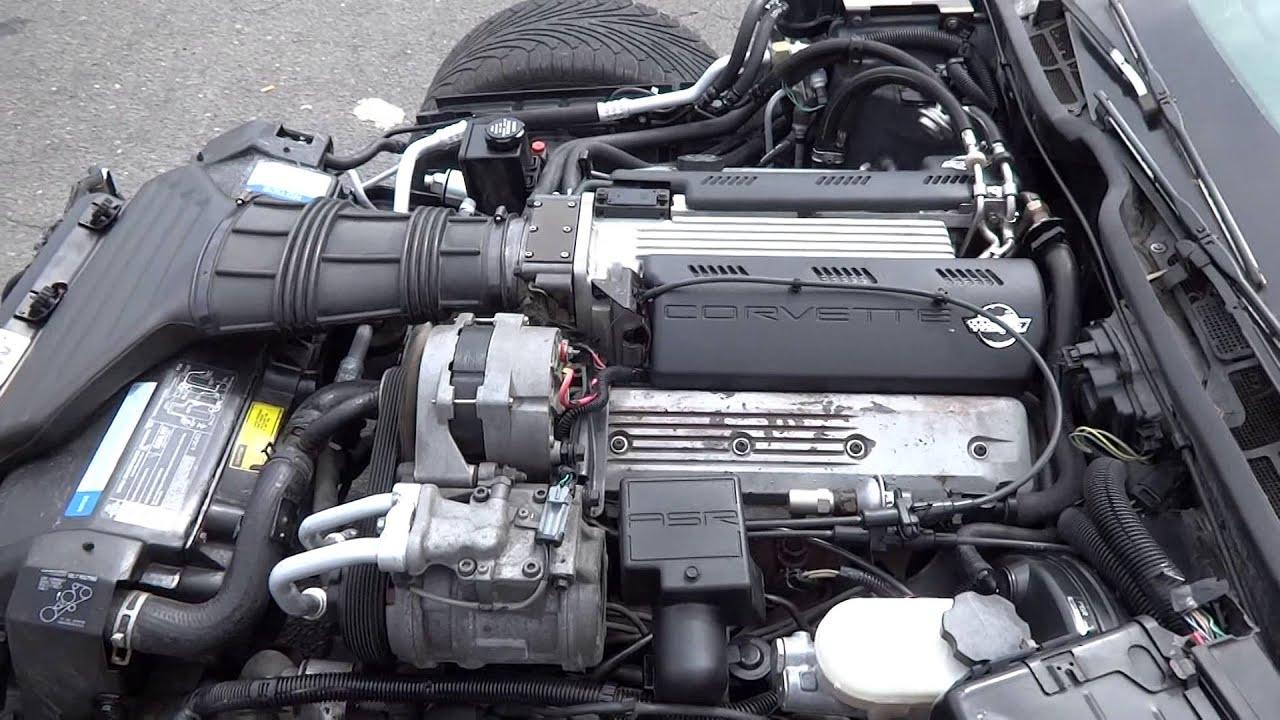 1992 C4 Corvette LT1 Engine for Sale - YouTube
