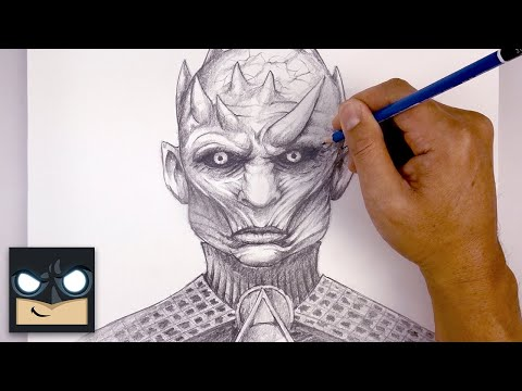How To Draw The Night King   Game of Thrones Sketch Tutorial thumbnail