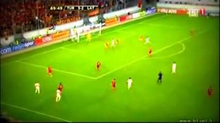 Caner Erkin Müthiş Çalım (Letonya Türkiye Maçı)