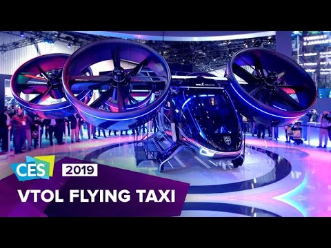 Stranger Zone - Uber Reveals Air Taxi At CES 2019