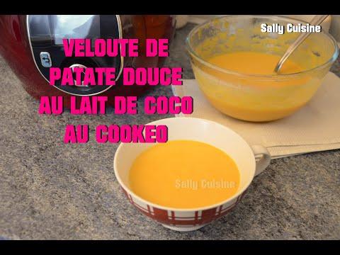 veloute-de-patate-douce-au-lait-de-coco-au-cookeo-|-sally-cuisine-{episode-33}