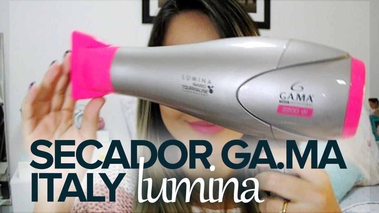 00c5f430f Resenha: Secador Lumina Nano Tourmaline Ga.ma Italy - YouTube