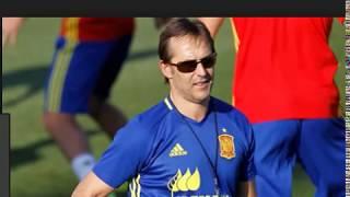 Julen Lopetegui Argote, head coach of Real Madrid, Spanish trainer