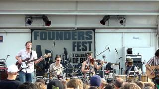The Ragbirds, Book of Matches/Romanian Train Song, Founders Fest 6-18-2011