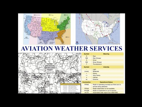 Private Pilot Tutorial 12: Aviation Weather Services