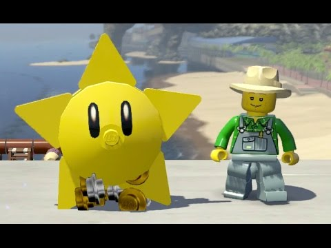 LEGO City Undercover (Switch) - All 5 Mario Super Star and ? Block Locations (Nintendo Easter Eggs)