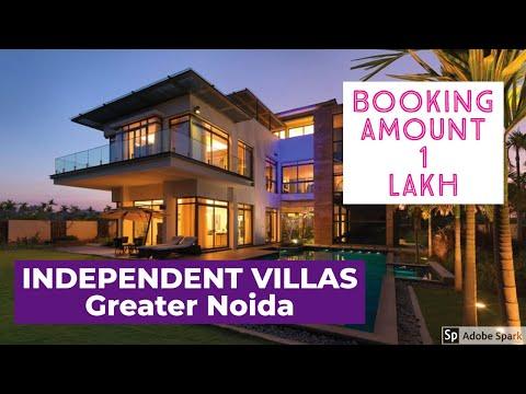 1 लाख में 4 BHK Duplex Villas  In Greater Noida | Paramount Golf Foreste | Call Mr.Vikas-09990542455
