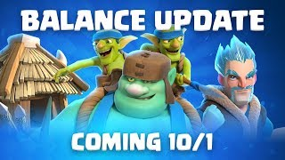 Clash Royale: Balance Update Live! (10/1)