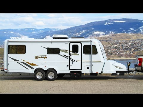 4 Season Fiberglass Travel Trailer By Bigfoot RV | Small Travel Trailers