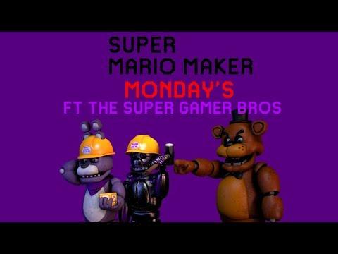 Super Mario Maker Mondays #1 Fnaf level