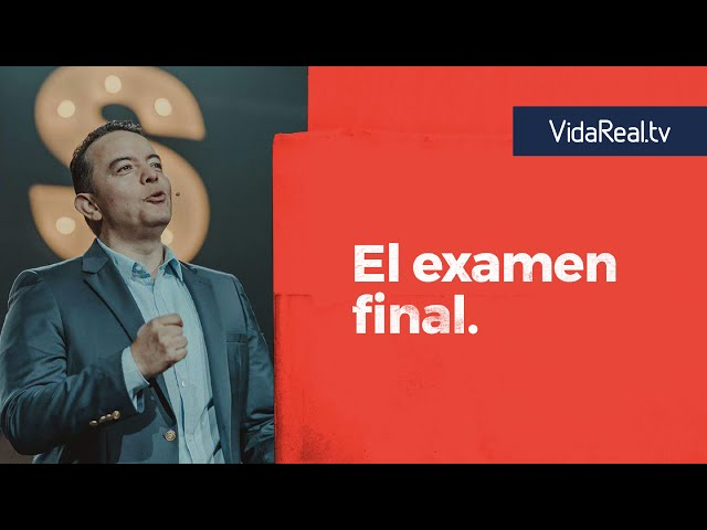 El Examen final. | #YoSoySamuel | Pastor Rony Madrid