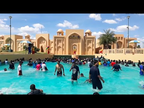 Wonderla Amusement water Park Adventures | Amazing Rides | Hyderabad | KNR TRENDING