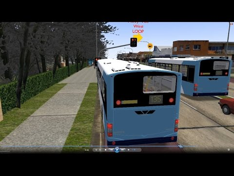 Omsi 2 tour (627) Sydney bus 135 Warringah Mall - Manly - Quarantine Station @ Volvo B7L 澳洲 悉尼