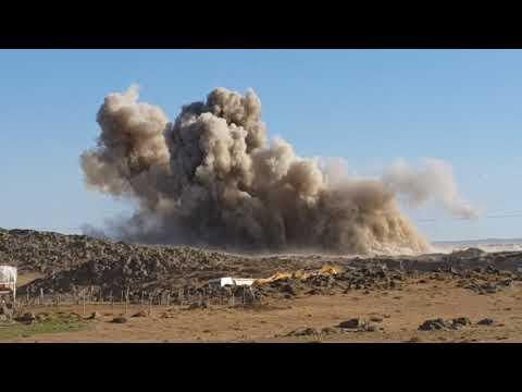 TNT patlaması yol inşaatı amonyum nitrat nasıl patlar