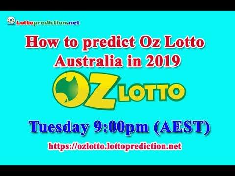 How To Predict Oz Lotto Australia In 2019