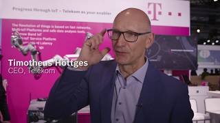 Experts@IoT: Timotheus Höttges, CEO Deutsche Telekom AG