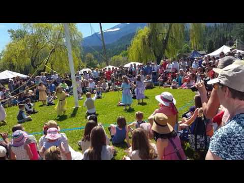 Kaslo May Pole Dance 2017