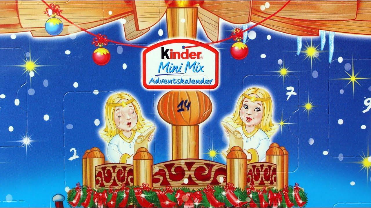 kinder mini mix adventskalender kinder kalendarz adwentowy mleczne czekoladowe niespodzianki. Black Bedroom Furniture Sets. Home Design Ideas