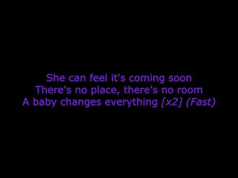 Faith Hill - A Baby Changes Everything (karaoke)