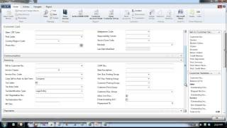 Microsoft Dynamics NAV - Setting Up Customers